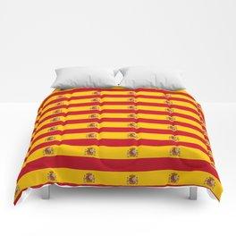 Flag of spain 2-spain,flag,flag of spain,espana, spanish,plus ultra,espanol,Castellano,Madrid,prado Comforters