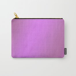 Purple Lilac Colors Carry-All Pouch