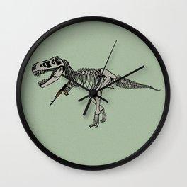 Fighter Dino Wall Clock