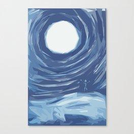 Sun Worship Canvas Print