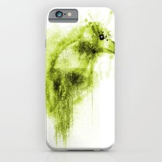 Splatter Bird Green iPhone 6s Slim Case
