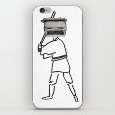 luke typewriter iPhone & iPod Skin