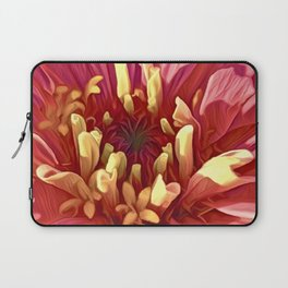 Pink Zinnia Laptop Sleeve