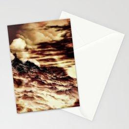 Nebel in den Bergen Stationery Cards