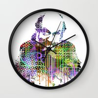 kubrick Wall Clocks featuring Kubrick by Zoé Rikardo
