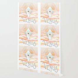 Venus NASA Travel Poster Fantasy Scifi Wallpaper