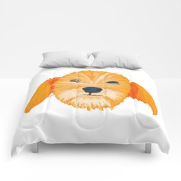 terrier - wht Comforters