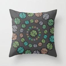 Leveraged  Throw Pillow