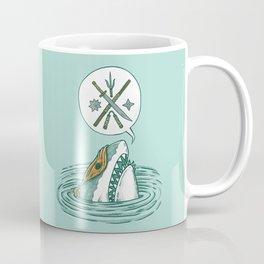 The Ninja Shark Coffee Mug