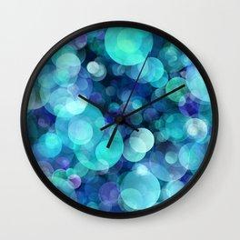 Bubbles 004 Wall Clock