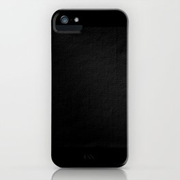 The Texture of Darkness iPhone Case