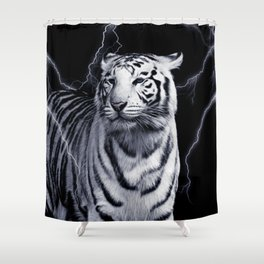 SPIRIT TIGER OF THE WEST Shower Curtain