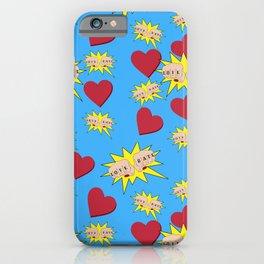 Love Hate iPhone Case