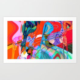 The Women Art Print