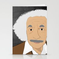 einstein Stationery Cards featuring Einstein by @NealCampbell