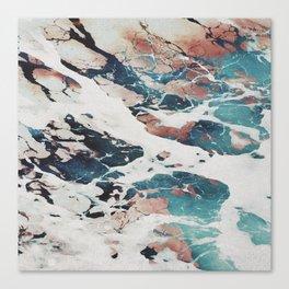 Marble Sea - Decorative Poster Canvas Print