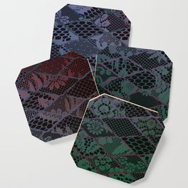 dark lace Coaster