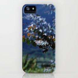 Decorative Eucalyptus iPhone Case