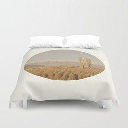 Landscape Circular Duvet Cover