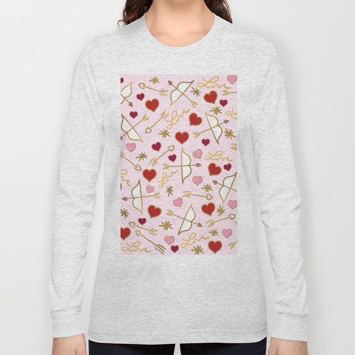 Cupid Love (soft pink) Long Sleeve T-shirt
