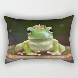 Frog Princess Rectangular Pillow