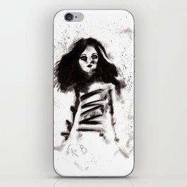 Soldados muertos (sketch version) iPhone Skin