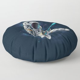 Spacebeat Floor Pillow