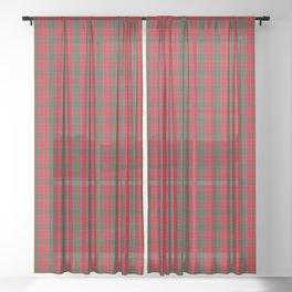MacGillivray Tartan Plaid Sheer Curtain
