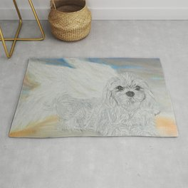 Personally Commissioned - FURever An ANGEL Rug