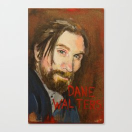 50 Artists: Dane Walters Canvas Print