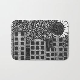 Artisan Artwork 1: Noughts and Dots... Bath Mat
