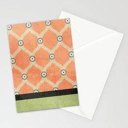 Tangerine Deco Stationery Cards
