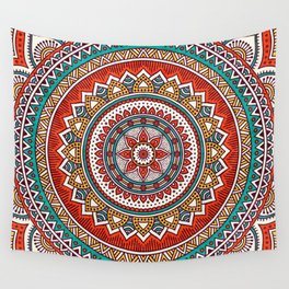 Hippie Mandala 6 Wall Tapestry