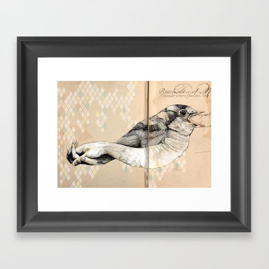 Great Expectations Framed Art Print
