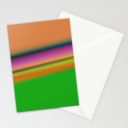 orange green texture Stationery Cards