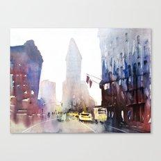 New York - Taxis Canvas Print
