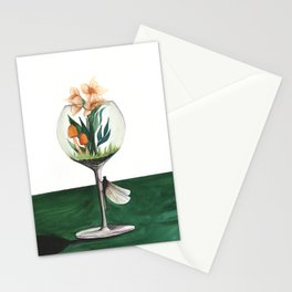 Unexpected Terrarium Dragonfly Stationery Cards
