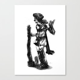 Regretful Adventurer  Canvas Print