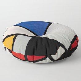 Theo van Doesburg - Contra-Compositions of Dissonances XVI - Abstract De Stijl Painting Floor Pillow