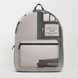 Vintage Police Box Backpack