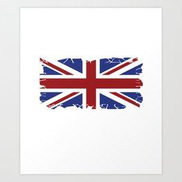 London Union Jack United Kingdom Brexit gift Art Print