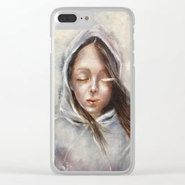 You were home Clear iPhone Case