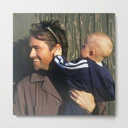 Wow Dad, that's an interesting ear... Metal Print