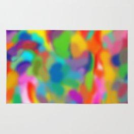 "Rainbow ""Watercolor"" Rug"