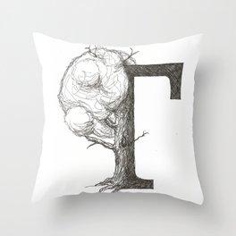 Timtree Throw Pillow