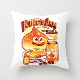 Slime Jam Throw Pillow