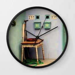 That Useless Ironing Board Wall Clock