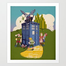 Who Killed The Wicked Witch Art Print