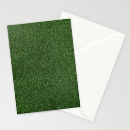 Bright Lush Green Grass Stationery Cards