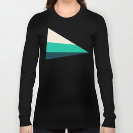 Stripe II Fresh Mint Long Sleeve T-shirt